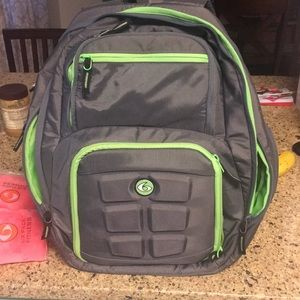 Rare edition 6 pack fitness book bag